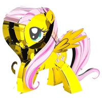 metal earth my little pony fluttershy 1
