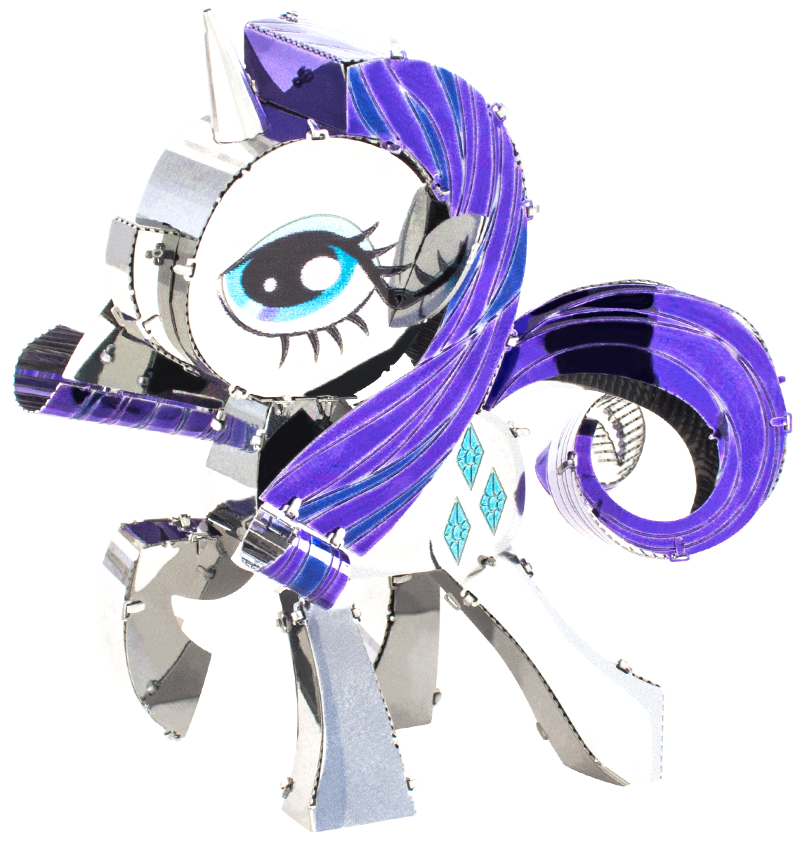Metal Earth My Little Pony - Rarity