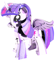 metal earth my little pony - twilight sparkle