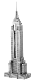 metal earth architecture - iconx empire state building
