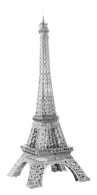 metal earth architecture - iconx eiffel tower