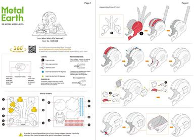 iron man helmet instructions