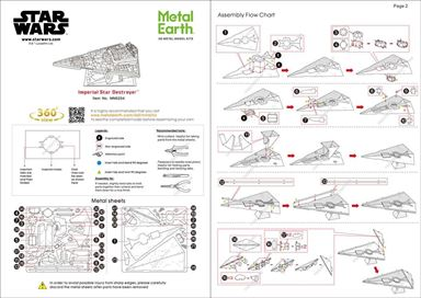 imperial star destroyer instructions