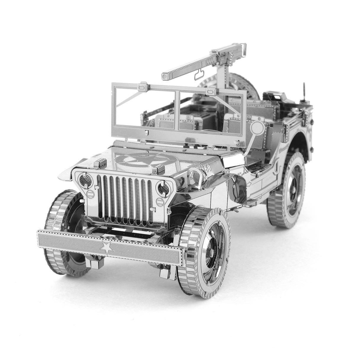 Metal Earth Iconx Willys Mb Jeep Metal Earth Diy 3d