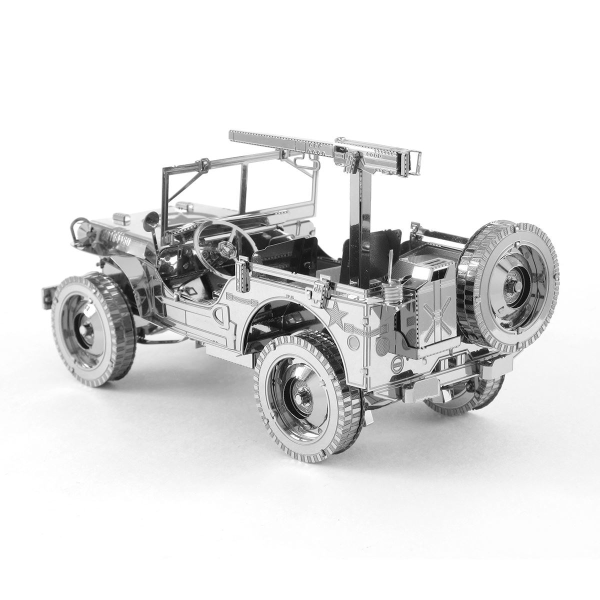 Jeep mb jeep : Metal Earth | DIY 3D Metal Model Kits. Metal Earth Iconx - Willys ...