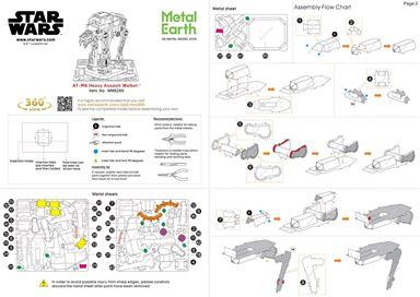 Instruction of  at-m6 heavy assault walker