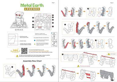 Instruction of Drax
