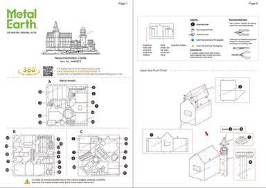 neuschwanstein castle instructions