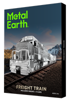 metal earth gift box sets - Freight Train Set