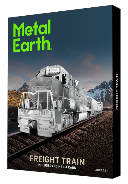 metal earth gift box sets - Freight Train Set