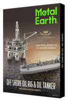 Offshore Oil Rig & Oil Tanker Gift Set