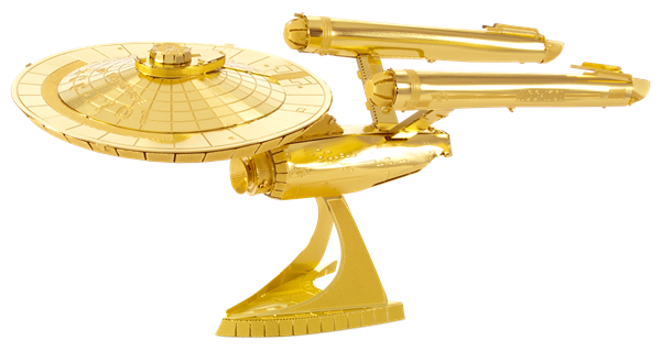 GOLD USS ENTERPRISE NCC-1701