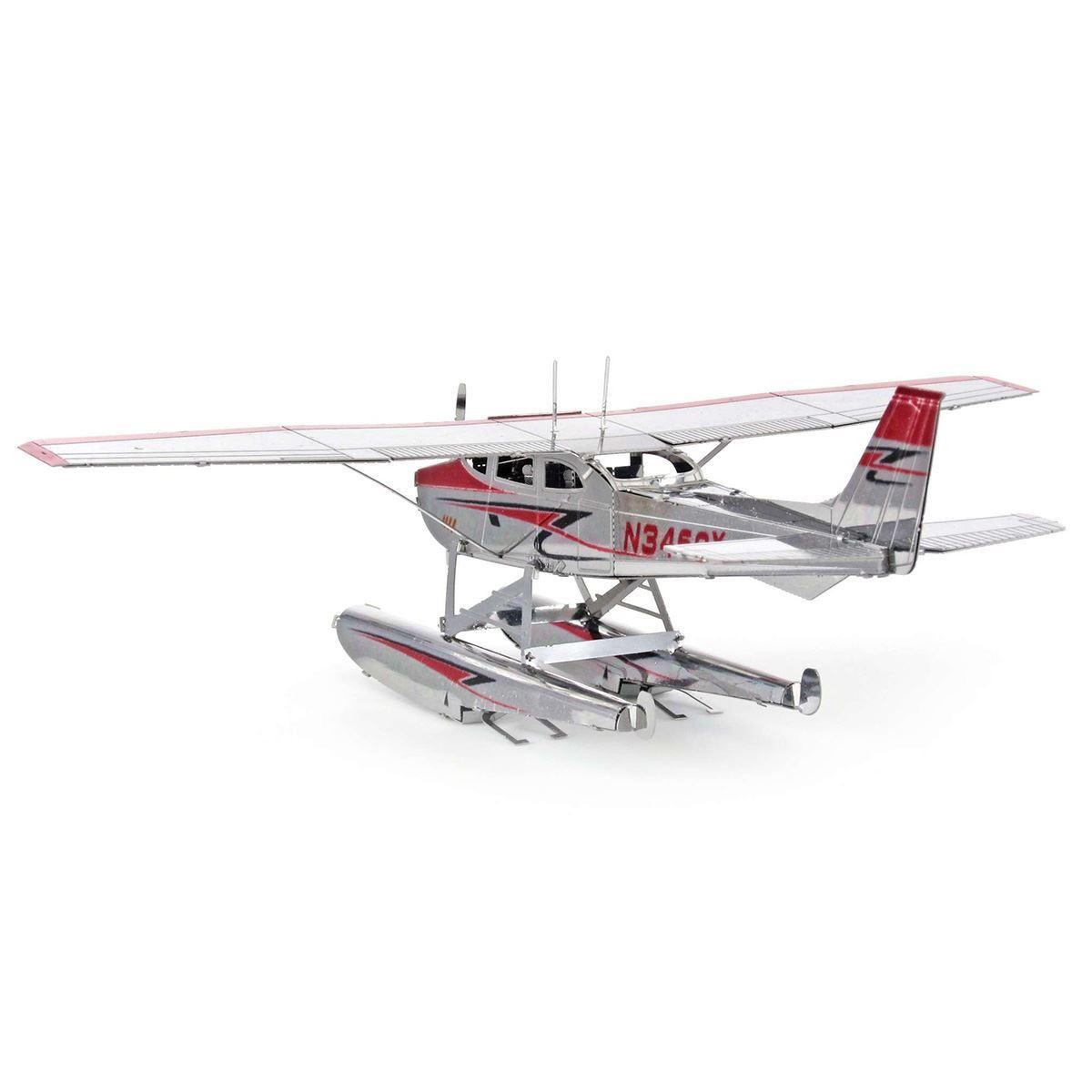 Metal Earth Diy 3d Model Kits Cessna 182 Floatplane 152 Navigation Light Wiring Diagram
