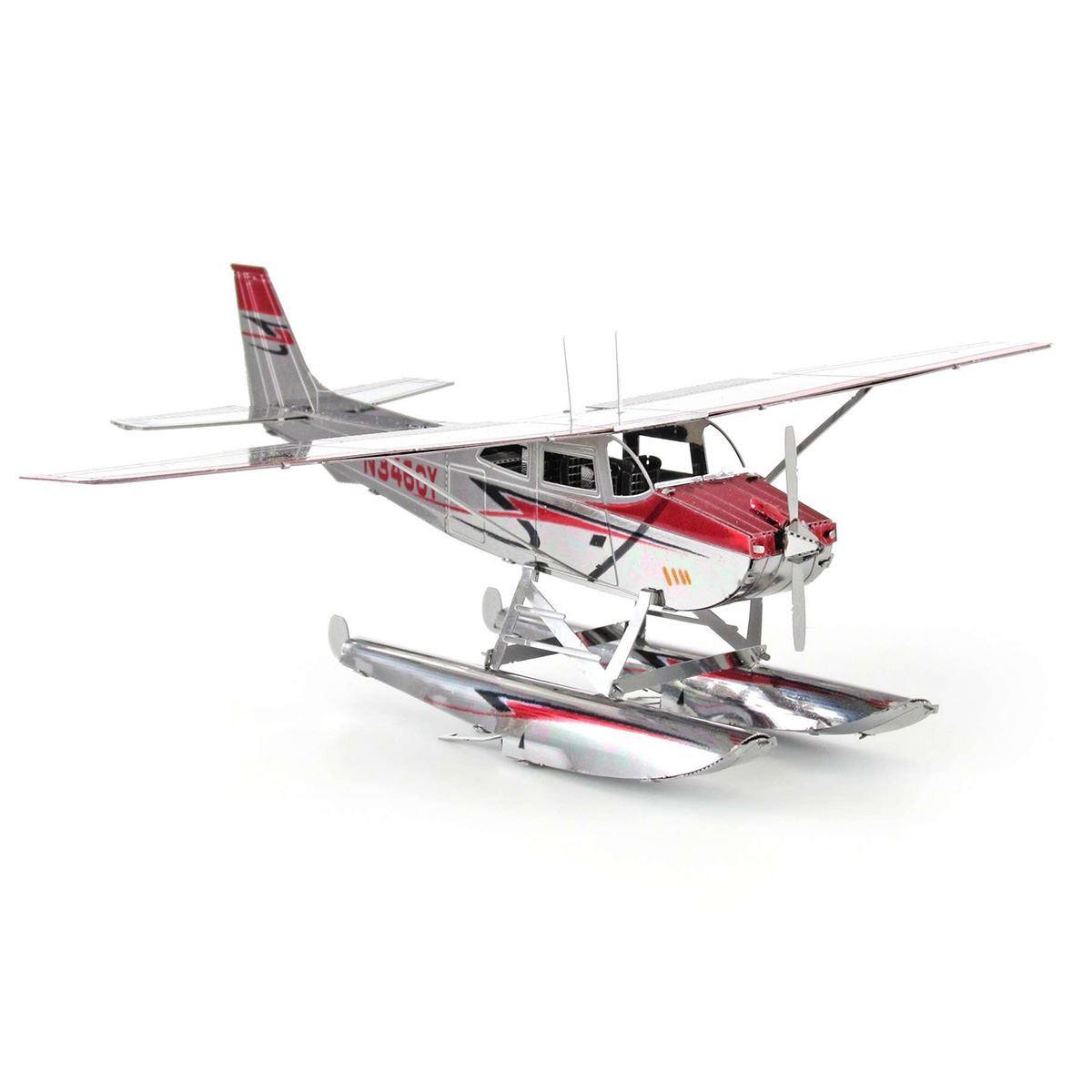 Metal Earth Cessna 182 Floatplane Metal Earth Diy 3d