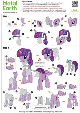 instruction of my little pony - twilight sparkle