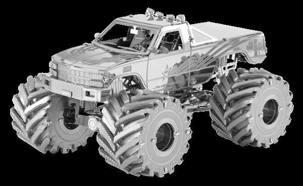 Metal Earth Vehicles Monster Truck Metal Earth Diy