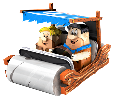 Flintstones Car
