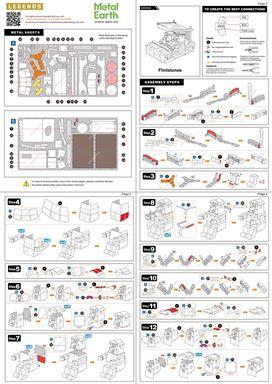 Instruction of Flintstones Car