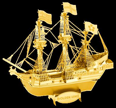 Metal Earth ships - Golden Hind