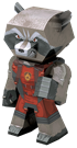 metal earth legends - Rocket