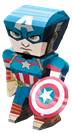 metal earth legends - captain america