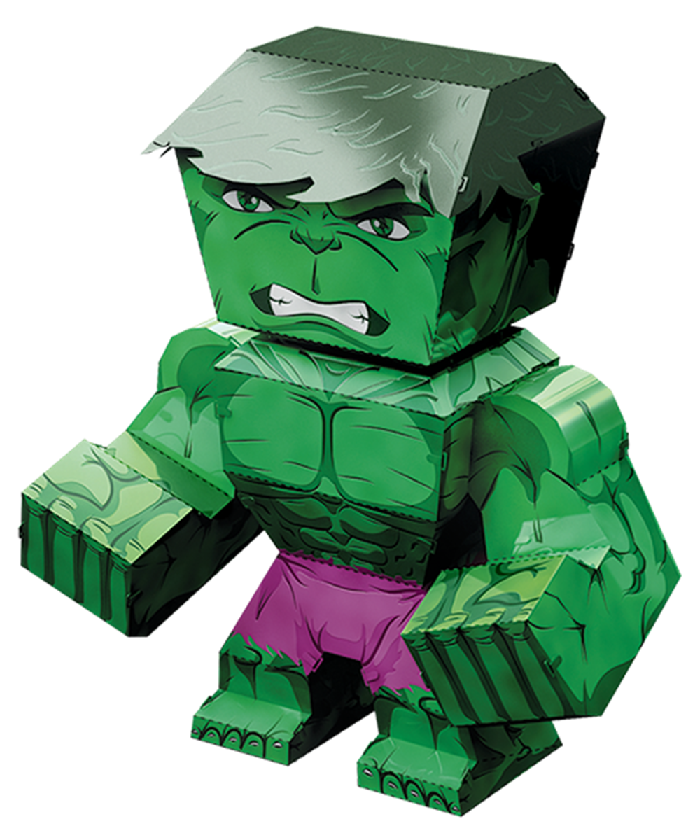 metal earth legends - hulk