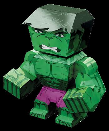 metal earth legends - hulk
