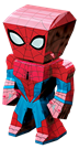 metal earth legends - spider man