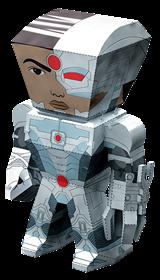 metal earth legends cyborg