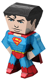 metal earth legends - superman