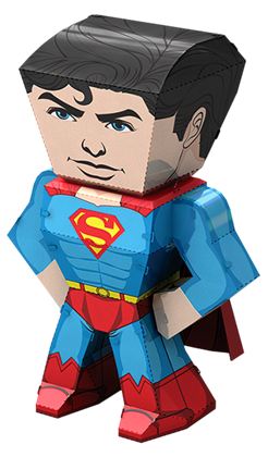 metal earth legends - superman