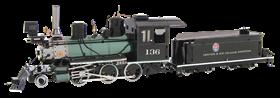 Old West 2-6-0 Locomotive