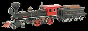 Wild West 4-4-0 Locomotive