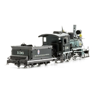Old West 2-6-0 Locomotive