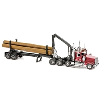 Western Star 4900 Log Truck & Trailer