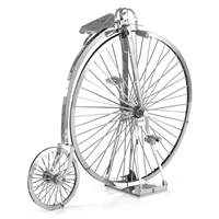 metal earth vehicles - penny farthing
