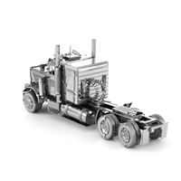 metal earth freightliner - flc long nose truck 1