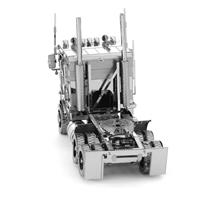 metal earth freightliner coe truck 1