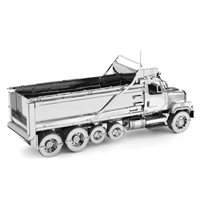 metal earth freightliner 114SD Dump Truck 1