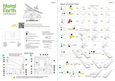 U-2 Dragon Lady - Instructions