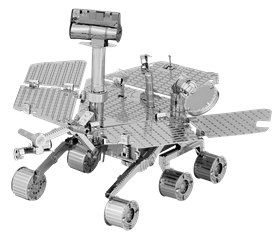 metal earth space mars rover