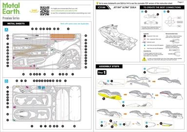 Instruction sheets - Kawasaki Jet Ski Ultra 310LX